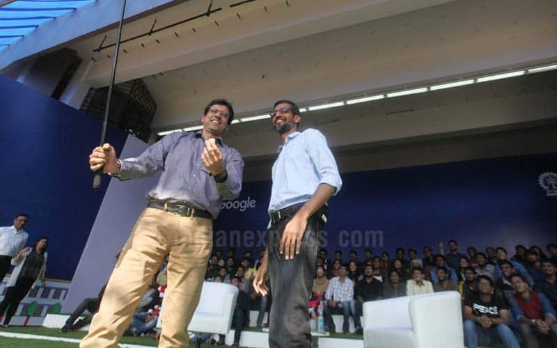 Google, Google CEO, Sundar Pichai IIT Kharagpur visit ,Google CEO Sundar Pichai, Sundar Pichai IIT, Sundar Pichai IIT Kharagpur, Pichai event at IIT Kharagpur