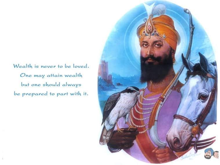 Guru gobind singh ji s 350th prakash parv 10 inspiring - Shri guru gobind singh ji wallpaper ...