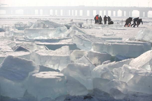 Mesmerising pictures from China's Ice and Snow Sculpture Festival