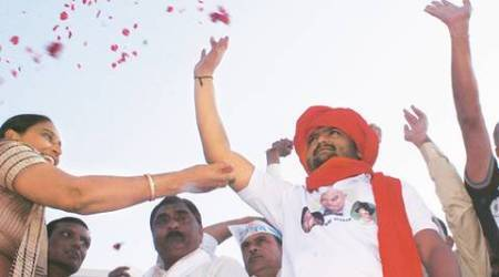 'Banished' Hardik Patel returns to Gujarat, tells Patidars to get ready for 'dangal' with govt