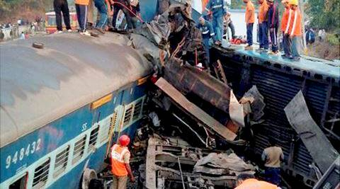 Loco drivers among 4 suspended for Kalindi Express collision