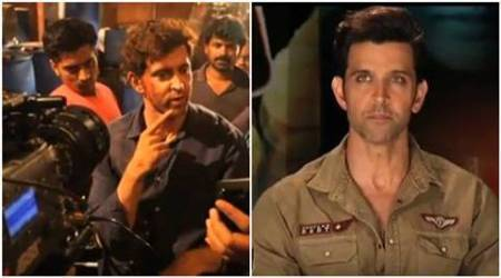 Hrithik Roshan, Hrithik Roshan actor, Hrithik Roshan films, kaabil, kaabil movie, kaabil Hrithik Roshan, Hrithik Roshan kaabil, Hrithik Roshan action sequences, entertainment news, indian express, indian express news