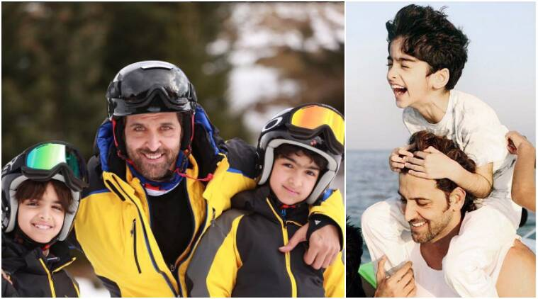Hrithik Roshan Took Time Off With Sons Began New Year With A