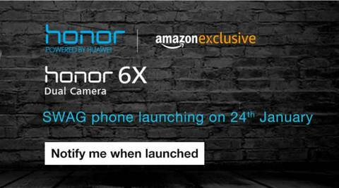 Huawei Honor 6X to go on sale in India as Amazon exclusive on January 24