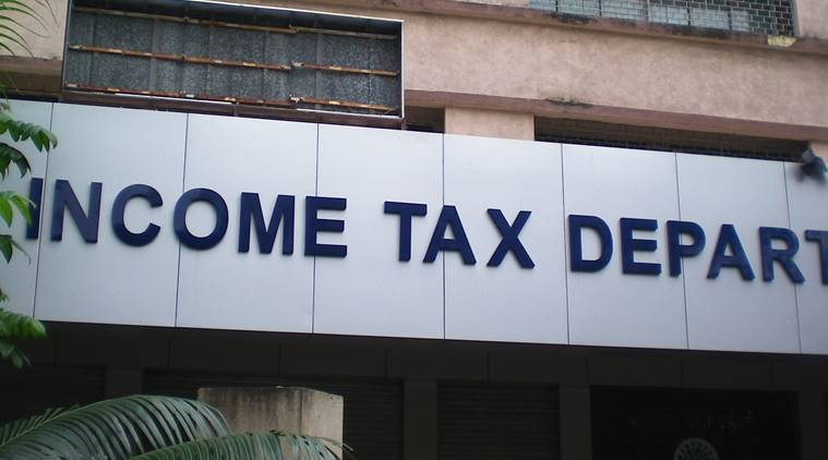 """Income Tax Department,BKC ,Bandra, Mumbai."" *** Local Caption *** ""Income Tax Department,BKC ,Bandra, Mumbai. Express photo by Vasant Prabhu. 1182012."""