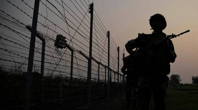 ceasefire, pakistan ceasefire violations, bsf post, bsf post in samba, samba sector of jammu, loc ceasefire, pakistani troops,ceasefire violation, line of control, poonch, jammu kashmir, shahpur, pakistan army firing, kashmir news, kashmir loc firing, india news, latest news