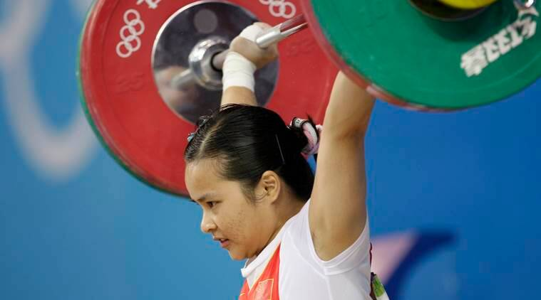 chinese weightlifters, chinese weightlifters doping case, Beijing Olympics doping, chinese weightlifters lose medals, Beijing Olympics 2008, International Weightlifting Federation, Chen Xiexia, Liu Chunhonog, indian express news