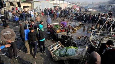 car bombing Baghdad, Baghdad, Baghdad bombing, Baghdad suicide bombing, iraq, iraq bombing, IS, IS bombing, islamic state, latest news, latest world news