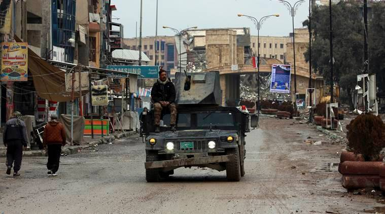 mosul, battle for mosul, iraq, iraq special troops, islamic state, world news, indian express