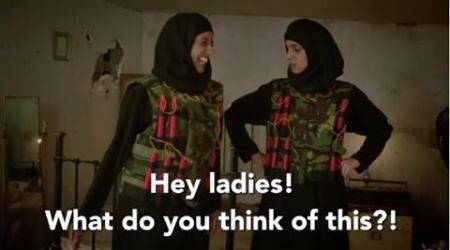 isis, islamic state, isis jihad brides, isis sex slaves, bbc two isis satire, real housewives of isis, bbc two isis housewives, isis real housewives, viral video, trending video, indian express