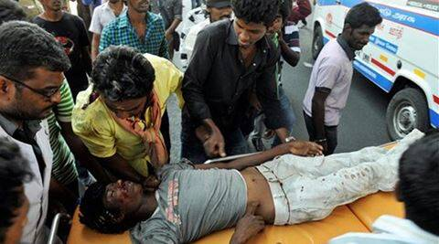 Jallikattu protests: These pictures of widespread violence in Chennai will stun you