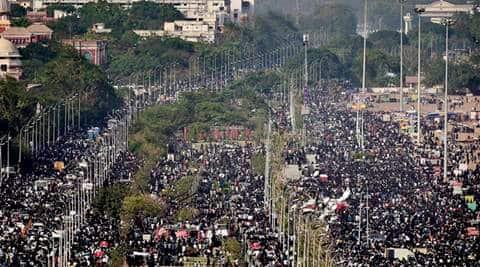 Chennai: 20 lakh join in, Jallikattu set for tomorrow