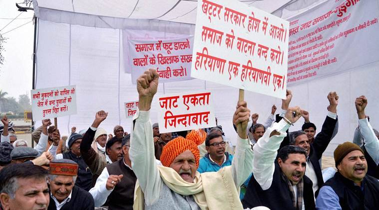 jat agitation, mobile internet services blocked, mobile services blocked in jhajjar, jhajjar news, haryana news, india news, latest news, indian express