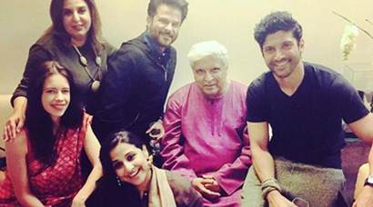 Inside pics of Javed Akhtar bash: Rekha, Hrithik Roshan let their hair down