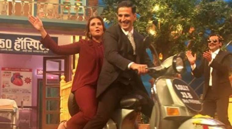 akshay kumar, jolly LLB 2, huma qureshi, the kapil sharma show, the kapil sharma show episode, sunil grover, akshay kumar Jolly LLB 2, akshay kumar kapil sharma, akshay kumar films, indian express, indian express news