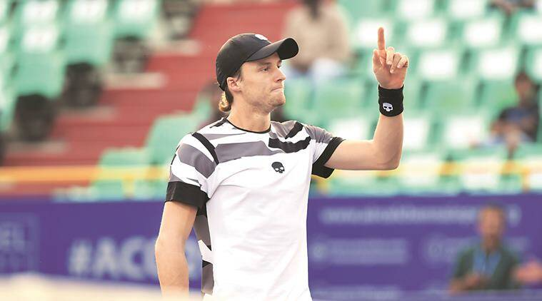 Jozef Kovalik, Marin Cilic, Chennai Open, SDAT Tennis Stadium, tennis, indian express news, sports news, tennis news