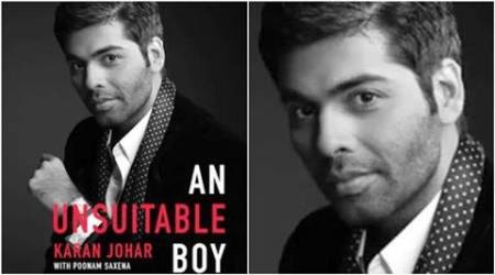 karan johar book, karan johar memoir, karan johar an unsuitable boy, an unsuitable boy book, karan johar kajol, karan johar kajol ajay devgn, an unsuitable boy book price, karan johar book bollywood, indian express, indian express news