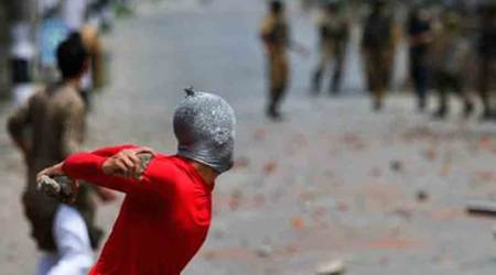 J-K: Stone-pelting incidents have come down in 2017, says Hansraj Ahir in Rajya Sabha