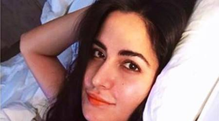 Katrina Kaif shares a selfie from her bed. She wakes up looking like this?