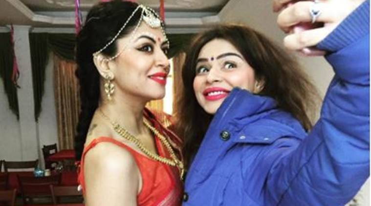kavita kaushik, aashka goradia, kavita kaushik wedding, kavita kaushik husband, aashka goradia boyfriend, aashka goradia wedding, kavita kaushik instagram, kavita kaushik wedding ceremony, indian express, indian express news, entertainment news