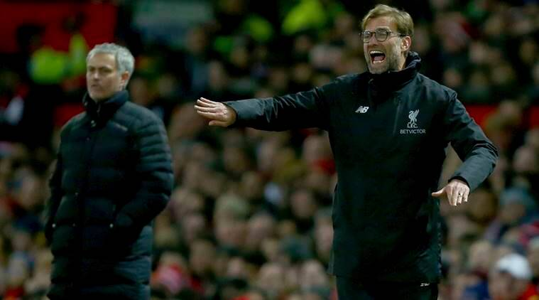 jurgen klopp, jose mourinho, manchester united vs liverpool, premier league, football news, sports news