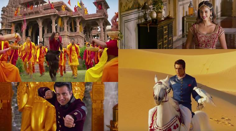 Kung Fu Yoga movie review, Kung Fu Yoga review, Kung Fu Yoga, Kung Fu Yoga movie, Jackie Chan, Jackie Chan film stills, sonu sood