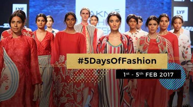 Lakme Fashion Week Summer Resort 2017 Designer To Showcase Healing Garments Lifestyle News The Indian Express