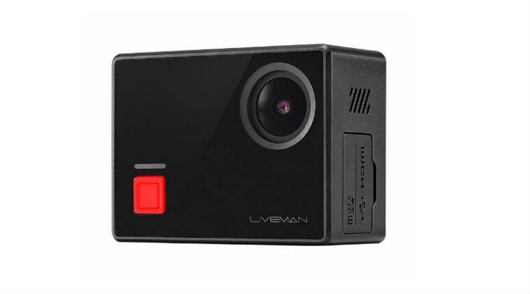 Image result for LeEco Launched Liveman C1 4K Action Camera