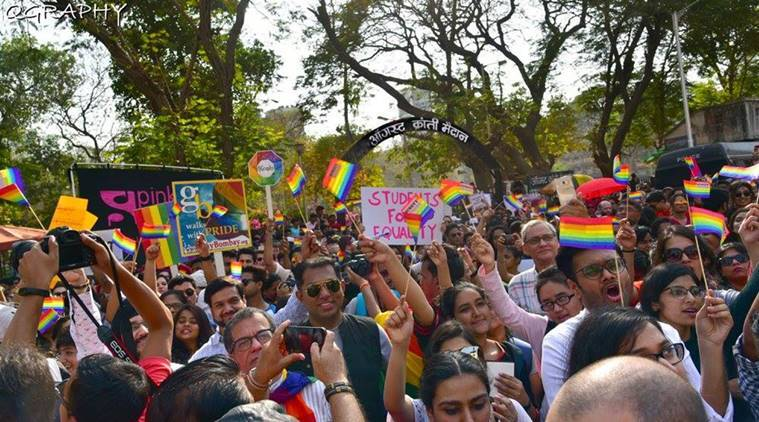 Pride march/ pride march/LGBTQ+ People Fight Against Sedition At Mumbai Pride March Event
