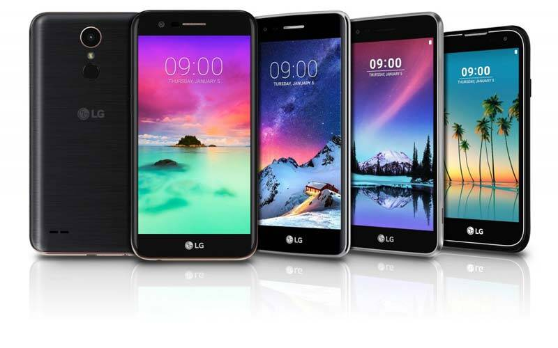 Image result for LG K phones at CES 2017