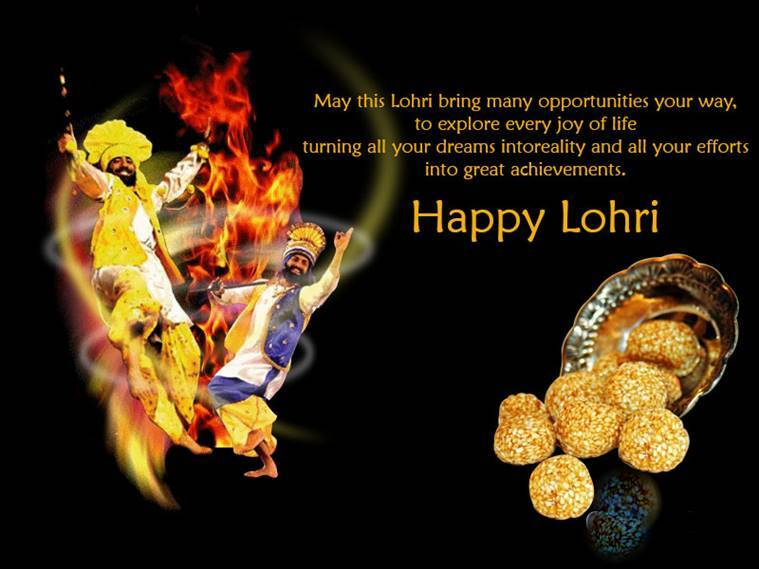 Happy Lohri 2018 Wishes Images Greetings Cards Quotes Messages