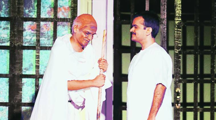 Shrimad Rajchandraji, 150th birth anniversary, yugpurush, play, mahama gandhi, mahatma gandhi's guru, india news, indian express news