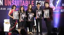 Karan Johar, Karan Johar book, Karan Johar biography, Karan Johar an unsuitable boy, Karan Johar shah rukh khan, shah rukh khan karan johar, karan johar images, karan johar pics, karan johar images, karan johar photos, entertainment photos, indian express, indian express news