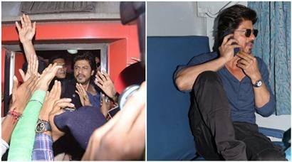 Raees: Shah Rukh Khan takes train journey from Mumbai to Delhi