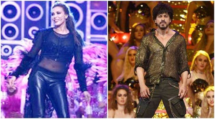 Iulia Vantur performs on Salman Khan songs, Shah Rukh Khan revives Baazigar magic