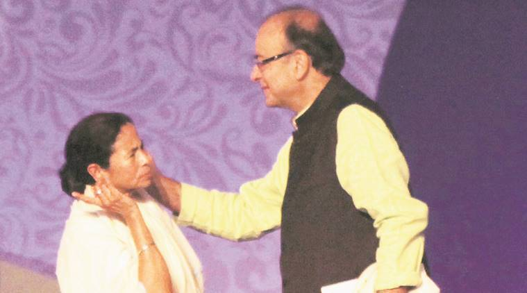 Mamata Banerjee and Arun Jaitley. Archive