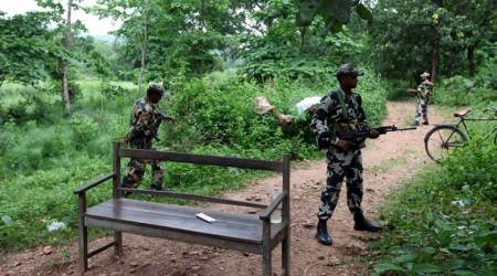 Encounter between security forces and Maoists in Jharkhand