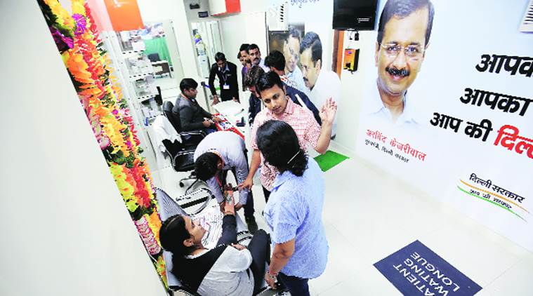 mohalla clinic news, delhi government news, india news, indian express news