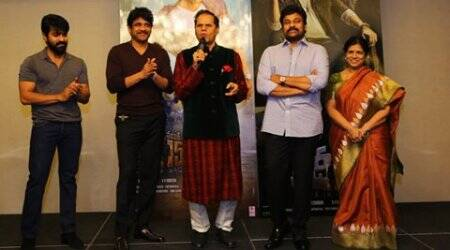 Akkinenis meet Megas: Nagarjuna, Chiranjeevi give rare moment at Khaidi No 150 success