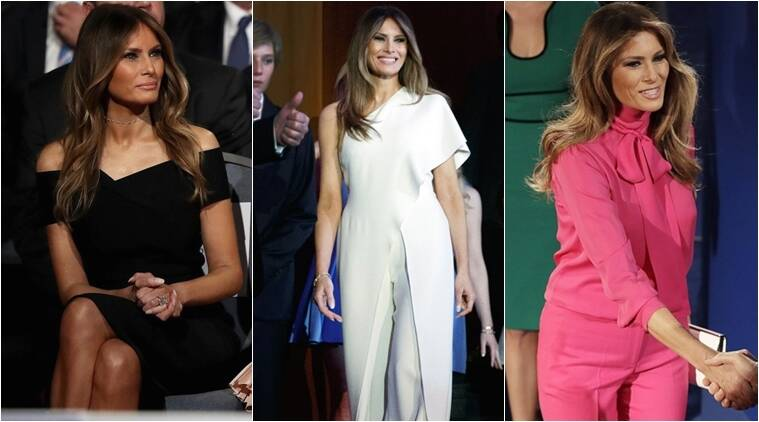 Is Melania Trump The New Jacqueline Kennedy Of White House Fashion Lifestyle News The Indian Express