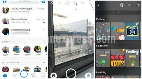 Facebook Messenger's new camera app with filters, 3D masks: Here's how to use