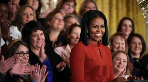 Michelle Obama, obama, Michelle Obama speeches, Michelle Obama last message, Michelle Obama farewell message, Michelle Obama farewell photo, Michelle Obama white house, Michelle Obama moments, usa news, world news, latest news, flotus, us first lady, indian express