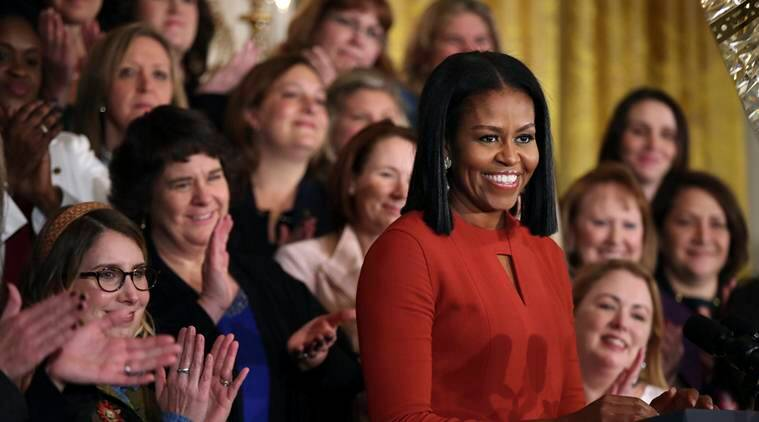 Michelle Obama says her daughters were conceived via IVF