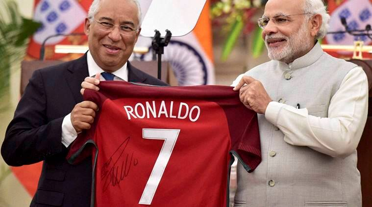 Portugal Prime Minister Antonio Costa, Antonio Costa India's visit, Antonio Costa in Goa, Antonio Costa visits Goa, Antonio Costa visits ancestral land, PM Modi, India-Portugal relations, indian express news