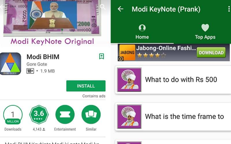 BHIM app duplicates are all over Google Play Store: Here's how to