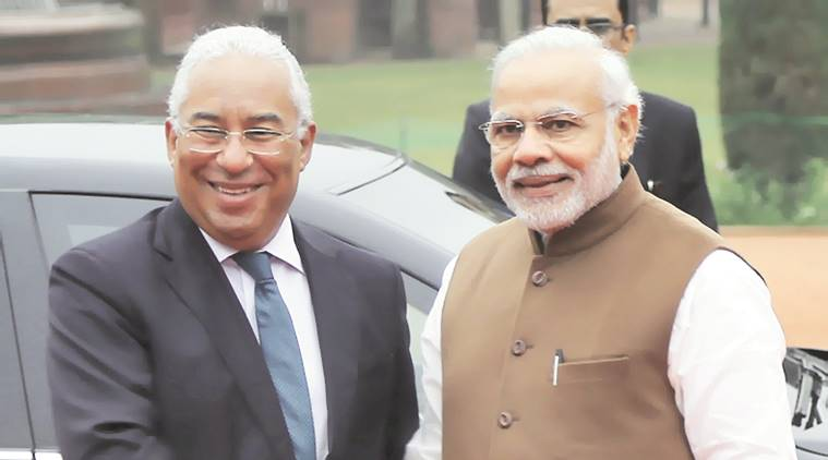 India, Portugal, India-Portugal, India-Portugal relations, India-Portugal-terrorism, Modi-Antonio Costa, India news, Indian Express