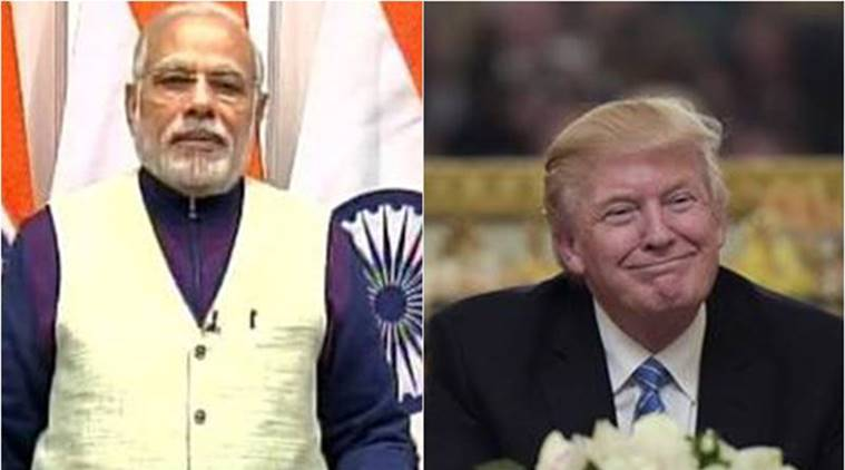 donald trump, narendra modi, trump, modi, PM modi, trump modi call, trump invite modi, india, us, india us relations, india us security, indian express news, india news, us president, barack obama