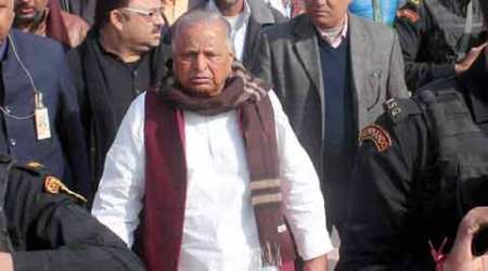 Uttar Pradesh elections 2017: Tumbling bikers, 9 bullet holes in Mulayam Singh Yadav's car