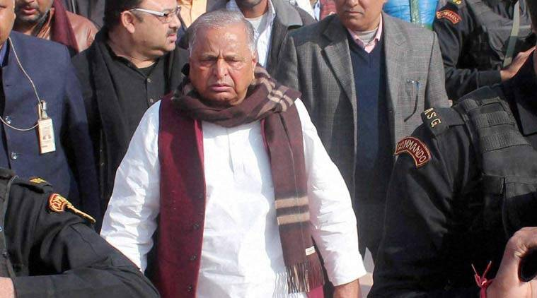 Uttar Pradesh elections, up elections, up polls, mulayam singh attack, mulayam singh bullet attack, congress, congress taack mulayam, 1984 mulayam singh attack, narendra modi, congress samajwadi party alliance, sp congress alliance, indian express news, india news, elections updates