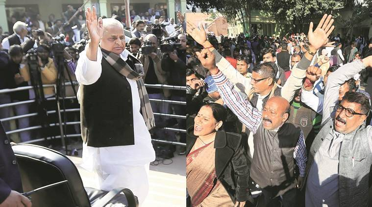 Mulayam Singh Yadav, Akhilesh Yadav, Samajwadi Party feud, Uttar Pradesh, Uttar Pradesh Polls, Uttar Pradesh Poll news, Uttar Pradesh Elections, Latest news, India news, National News, India news